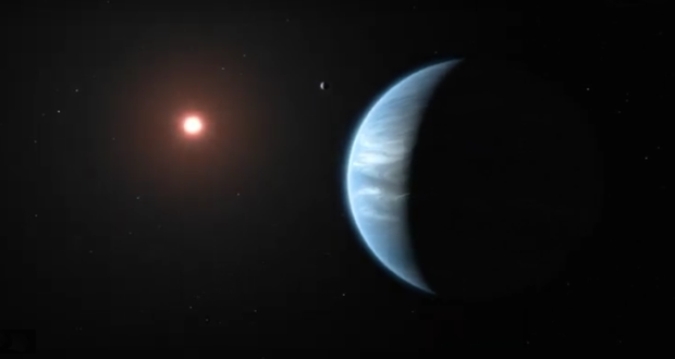 First time: Astronomers detect water and temperatures on potentially habitable planet